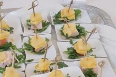 Gerookte kipfilet met ananas