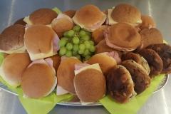 Standaard broodjes schaal